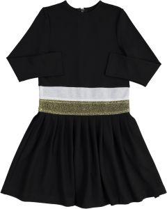 The mEE dress Girls Lurex Band Dress - 8206