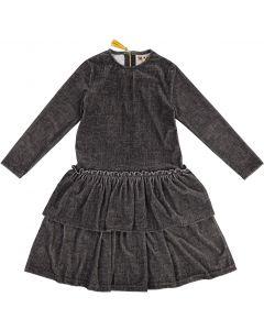 Tikie Studio Girls Ribbed Tier Dress - 8428