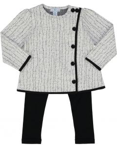 Whitlow & Hawkins Baby Girls Crackle Outfit - WHF198021