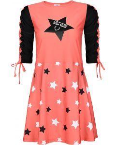 Abstract Girls Star Swim Dress - 16SDMV