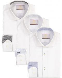 Alfa Perry Boys Long Sleeve Dress Shirt with Contrast - Fall 2021 - APSHB-KK1-BC