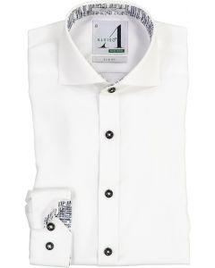 Alviso Boys Long Sleeve Dress Shirt with Contrast - 4440-BOBS