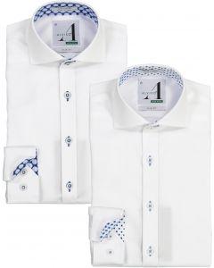Alviso Boys Long Sleeve Dress Shirt with Contrast - Spring 2020
