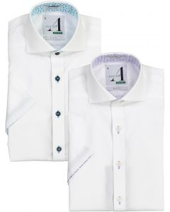 Alviso Boys Short Sleeve Dress Shirt with Contrast - Spring 2020