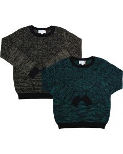 Amourie Boys Long Sleeve Cable Knit Sweater - 72W215