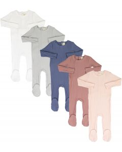 Analogie by Lil Legs Boys Girls Unisex Cotton Wide Ribbed Stretchie