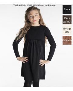 Analogie by Lil Legs Girls Winter Ribbed Knit Dress