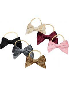 Arabelle Baby Girls Velvet Bow Headband - 1002