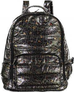 Bari Lynn Backpack - Puffer Leopard