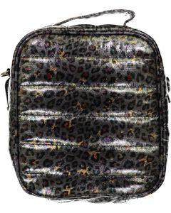 Bari Lynn Lunch Bag - Puffer Leopard