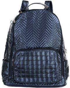 Bari Lynn Backpack - Quilted Chevron