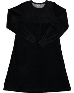 Bee & Dee Girls Velour Nightgown - BBVSN - Smocked