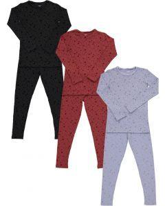 Bee & Dee Unisex Cotton Pajamas - Velvet Dot