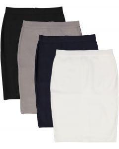 BGDK Womens Bandage Pencil Skirt (Longer Length) - BK-BF102B