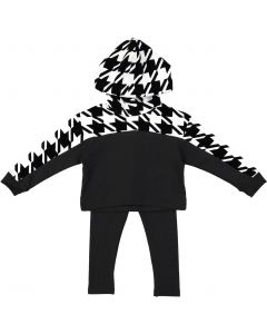 Bla Bla Bla Baby Boys Girls Unisex Houndstooth Outfit - WB0CY1349P