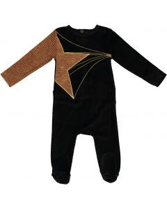 Blinqi Unisex Shooting Star Velour Stretchie - 50924