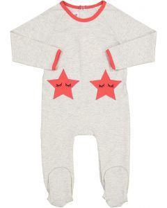 Blinqi Baby Girls Sleeping Star Cotton Stretchie - 706