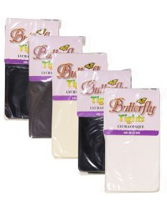 Butterfly Girls Lycra Opaque Tights - 1181