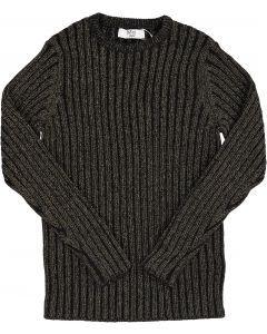 BZzy Style Unisex Metallic Ribbed Sweater - 3112