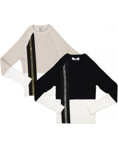 BZzy Style Boys Ribbed Lurex Sweater - 9144