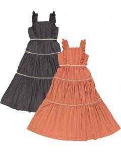 C.T.N Girls Tiered Crinkle Jumper Robe - 2623