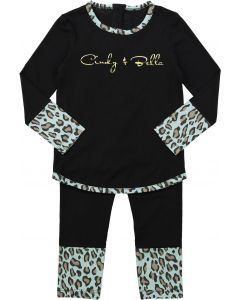 Cindy and Bella Boys Cotton Leopard Pajamas - SS9017