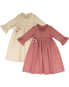 Clo Girls Sparkle Ruffled Edge Dress - SB0CP4123