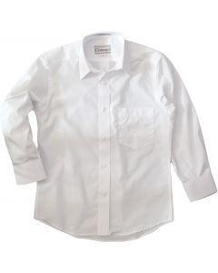Concord Mens Long Sleeve White Dress Shirt