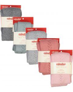 Condor Girls Side Crochet Tights - 32591/1