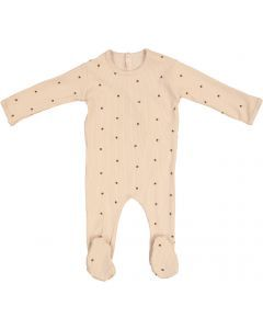 Ely's & Co Girls Cotton Ribbed Acorn Stretchie - AW21-0019-F