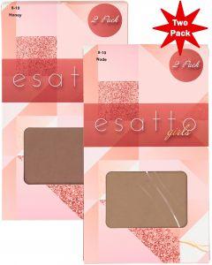 Esatto Girls Pantyhose 2 Pack - ES350