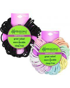 Expressions Ponytail Holder 60 Pack - EX138