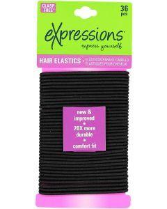 Expressions Ponytail Holder 36 Pack - EX841