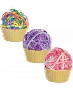 Expressions Ponytail Holder 36 Pack - EXV1031 - Cupcake