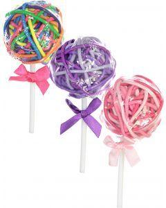 Expressions Ponytail Holder 36 Pack - EXV1031 - Lollypop