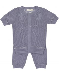 Fragile Baby Boys Embroidered Star Outfit - SB0CP4122B