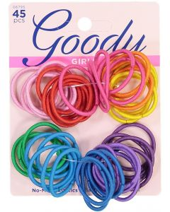 Goody Ouchless 2mm Ponytail Elastics 45 Pack - 1941422