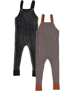 Hopscotch Baby Boys Girls Unisex Two Tone Overall - WB0CP4249B