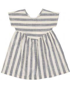 Hux Girls Stripe Yoke Dress - HB1544
