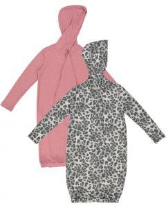 Indigo Teens Hoodie Dress - S21-N1-55