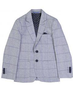 Isaac Mizrahi Boys Big Check Blazer - BL8244