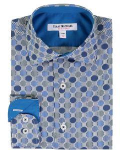 Isaac Mizrahi Boys Long Sleeve Dress Shirt - SH9572
