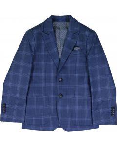 Isaac Mizrahi Plaid Boys Blazer - ST2412