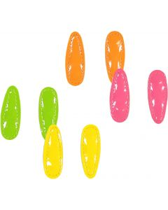 Keshet Girls Neon Snap Hair Clip - CL62