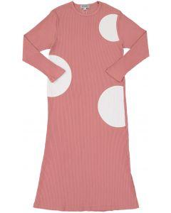 Kokao Girls Ribbed Circle Cotton Nightgown - CS19G