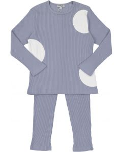 Kokao Boys Ribbed Circle Cotton Pajamas - CS19PB