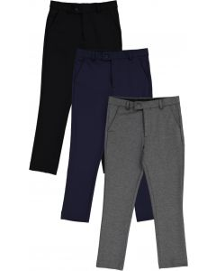Leo & Zachary Boys Knit Stretch Dress Pants - LZK-504/508