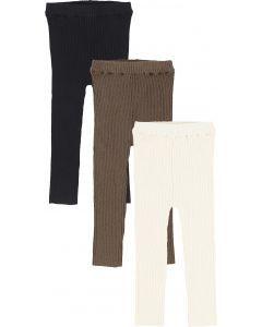 Lil Legs Boys Girls Unisex Leggings - Knit