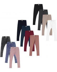 Lil Legs Boys Girls Unisex Ribbed Leggings - Sale Colors