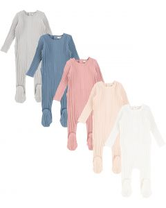 Lil Legs Unisex Cotton Stretchie - Wide Ribbed